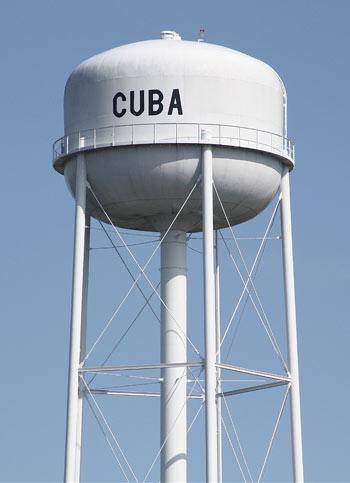 Cuba Water tower